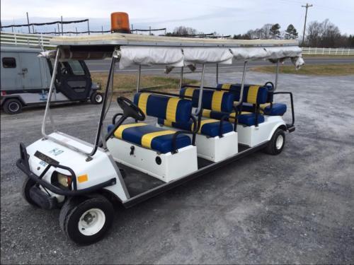 '06 CLUB CAR LIMO CART Villager 8 GAS GOLF CAR CART Seats ...