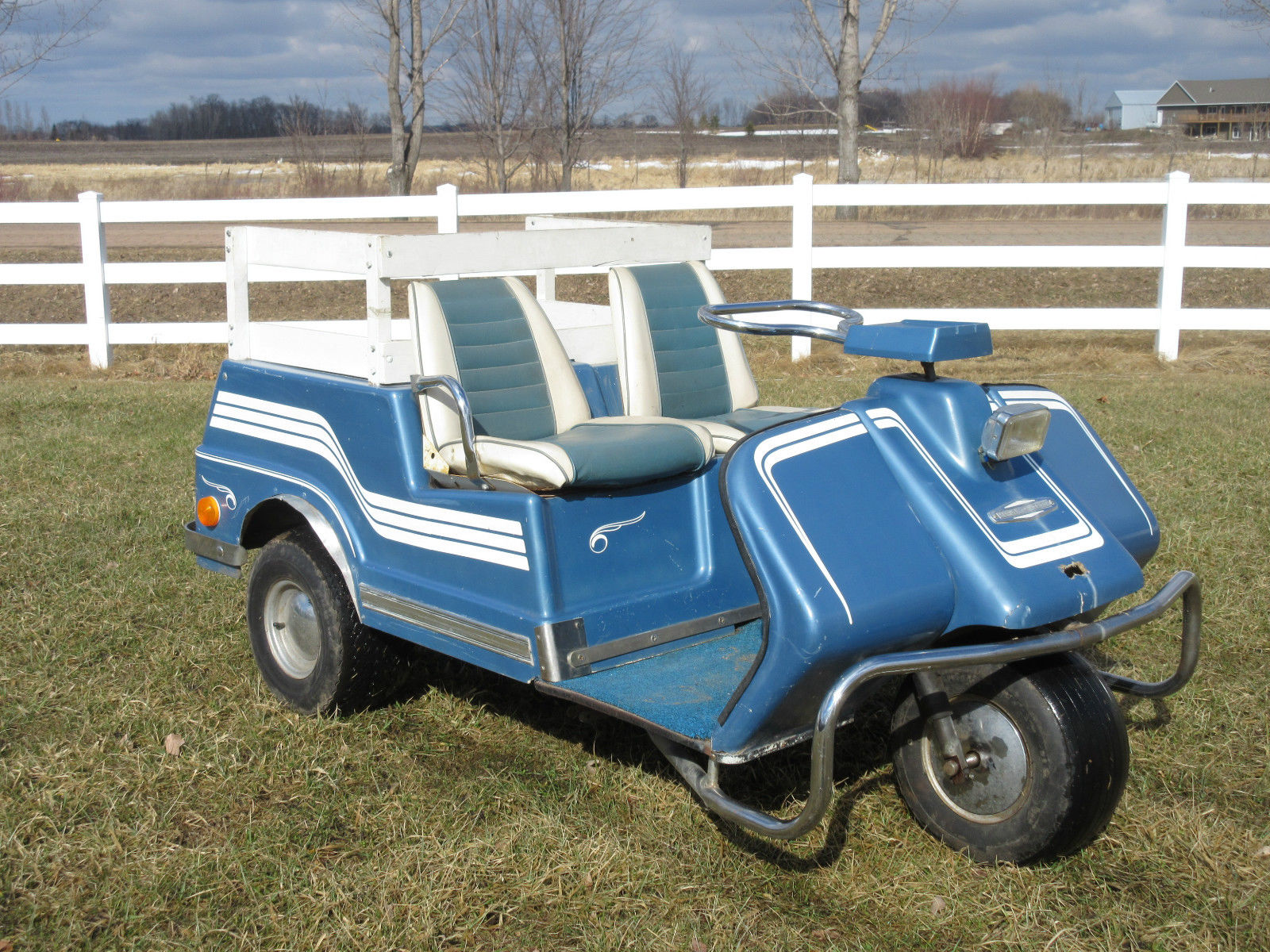 1969 Harley Davidson 3 Wheel Electric GOLF CAR / CART for sale