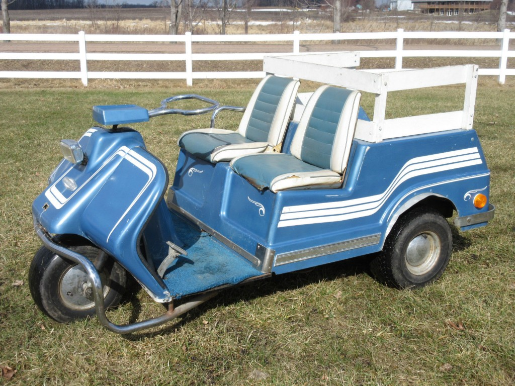 1969 Harley Davidson 3 Wheel Electric GOLF CAR / CART