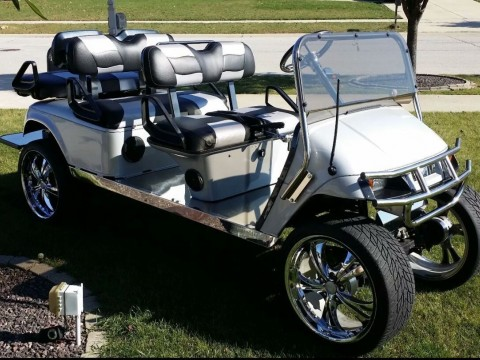 2002 6 Passenger EZGO Electric Golfcart for sale