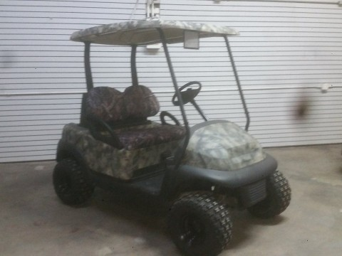 2007 Club Car lifted golf cart for sale