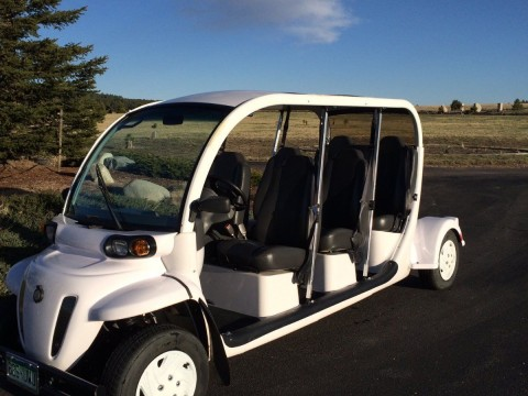 2007 GEM E6 Six Passenger Electric Golf Cart   Great Condition for sale