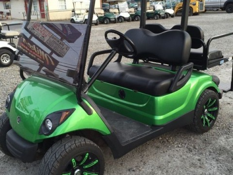 2009 Yamaha 48v Electric golf cart Custom Paint Wheels etc. Newer batteries! for sale