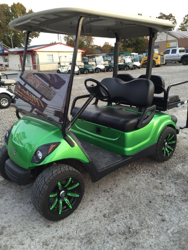 My Yamaha Golf Cart Charger Green And Yellow Lights