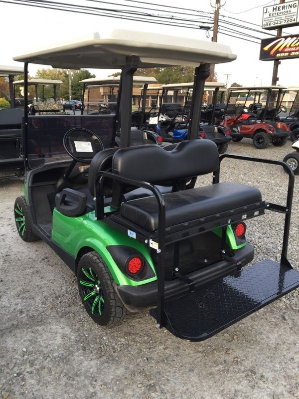 Custom Yamaha Golf Cart