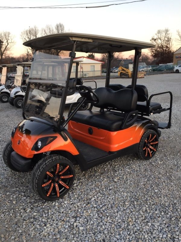 2015 Ford Mustang likewise 281219622287 in addition New Jeep Body Kits For Golf Carts additionally 302237927635 besides 2009 Yamaha 48v Electric Golf Cart Custom Two Tone Paint Wheels Etc. on ezgo golf cart custom bodies