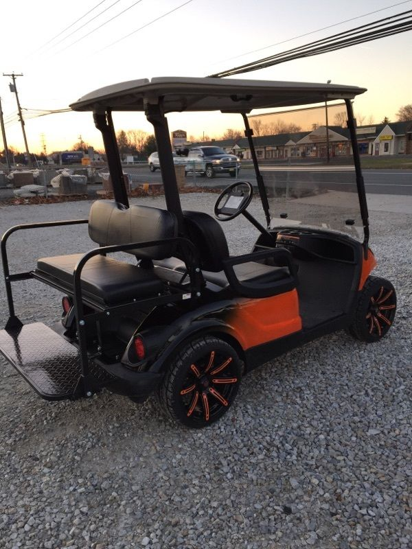 2009 Yamaha 48v Electric golf cart Custom two tone Paint, Wheels etc!