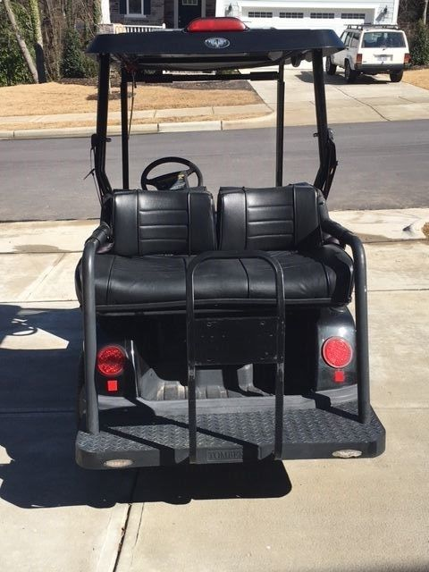 Black Tomberlin Street Legal 48 VOLT GOLF CART 2007 Emerge LSV NEV