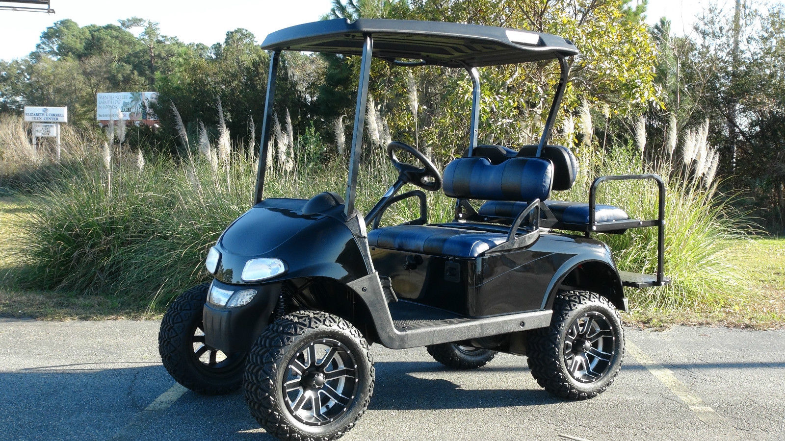 Ezgo Rxv Gas Golf Cart Refurbished Custom 4 Passenger