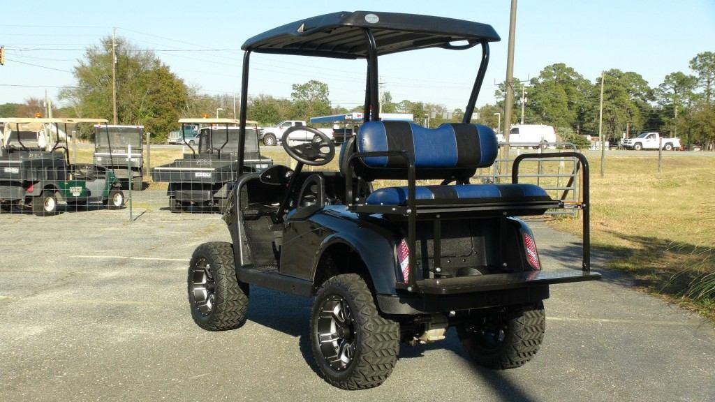 Ezgo Rxv Gas Golf Cart Refurbished Custom 4 Passenger Lifted Custom Seats on Yamaha Cart Lift