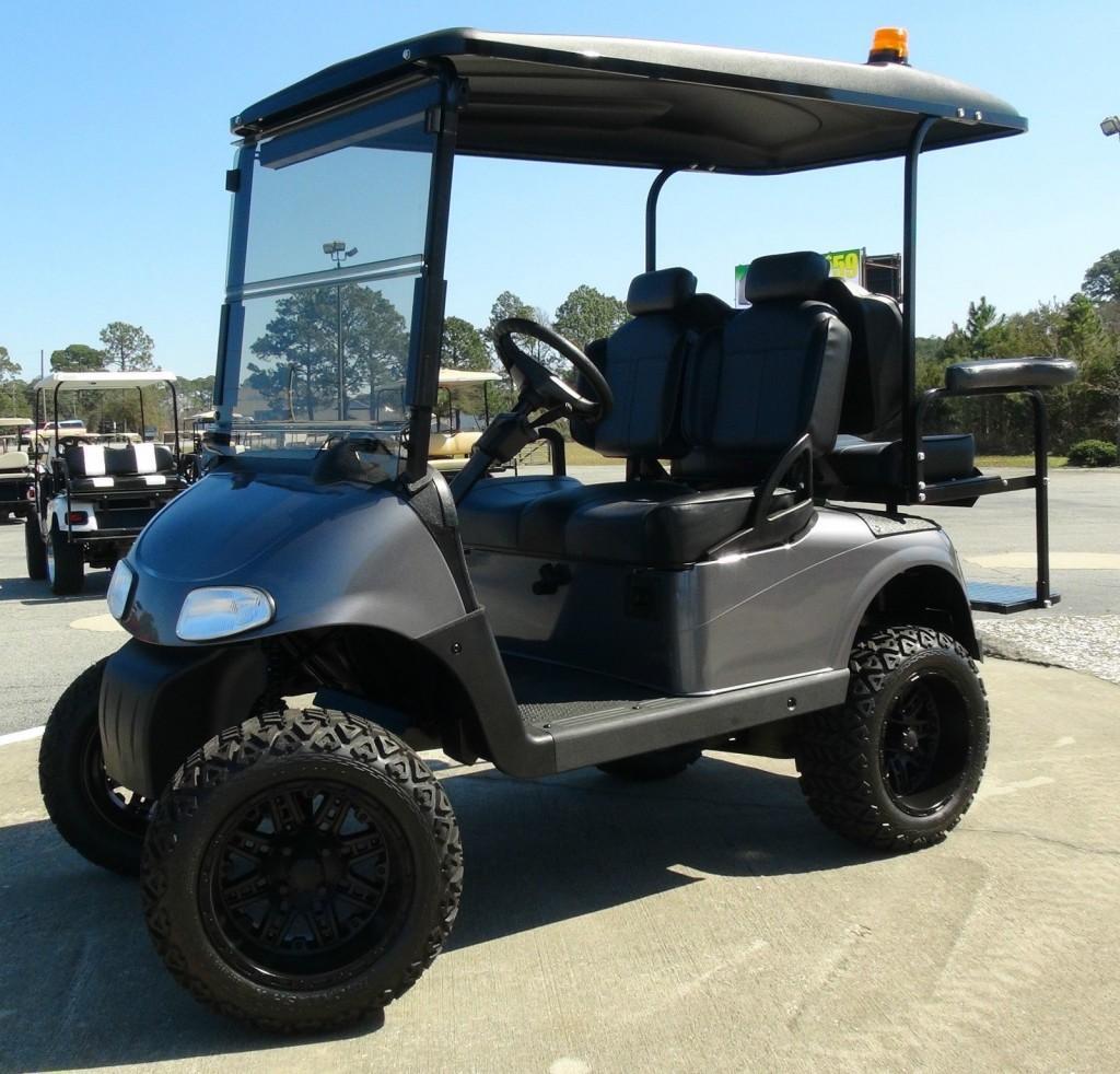 Ezgo Rxv Gas Golf Cart Refurbished Custom 4 Passenger