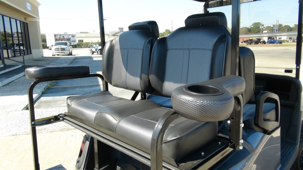 EZGO RXV GAS GOLF Cart/refurbished Custom / 4 Passenger / Custom HIGH BACK SEATS