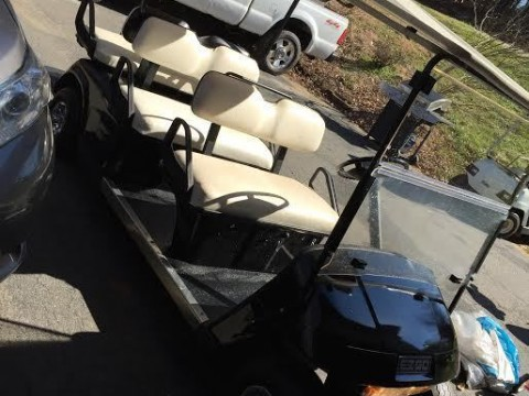 Ezgo Shuttle golf cart with new Batteries for sale