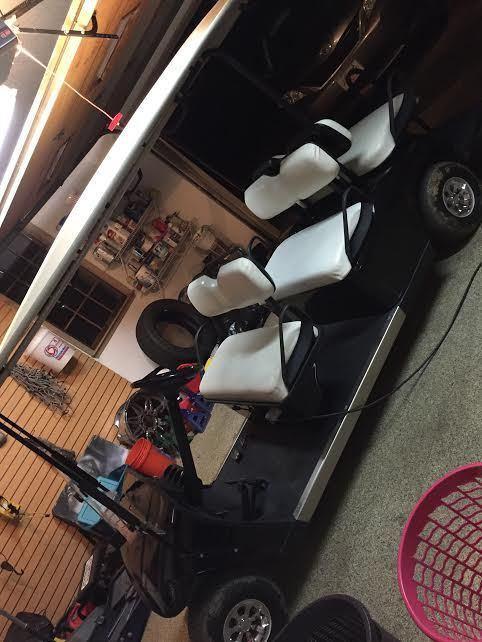 Ezgo Shuttle golf cart with new Batteries