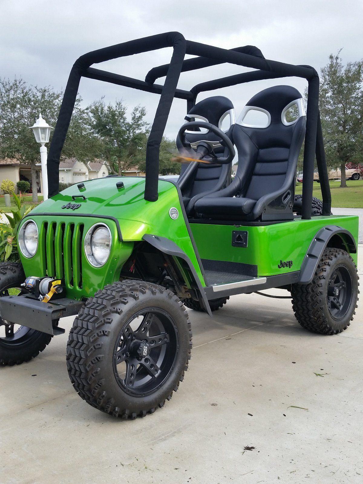 Ezgo Txt 2011 Golf Cart Jeep For Sale