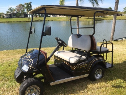Golf Cart   2009 STAR Four Passenger for sale
