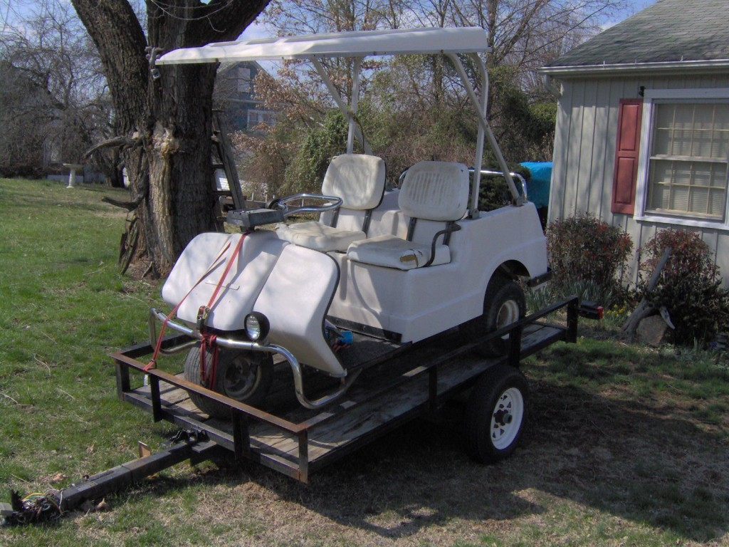 Harley-Davidson amf golf cart 1981
