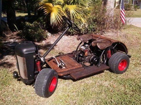 Rat Rod Golf Cart   Custom Yamaha gas Powered ONE OFF for sale