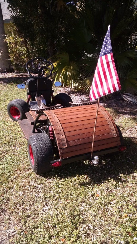 Rat Rod Golf Cart   Custom Yamaha gas Powered ONE OFF