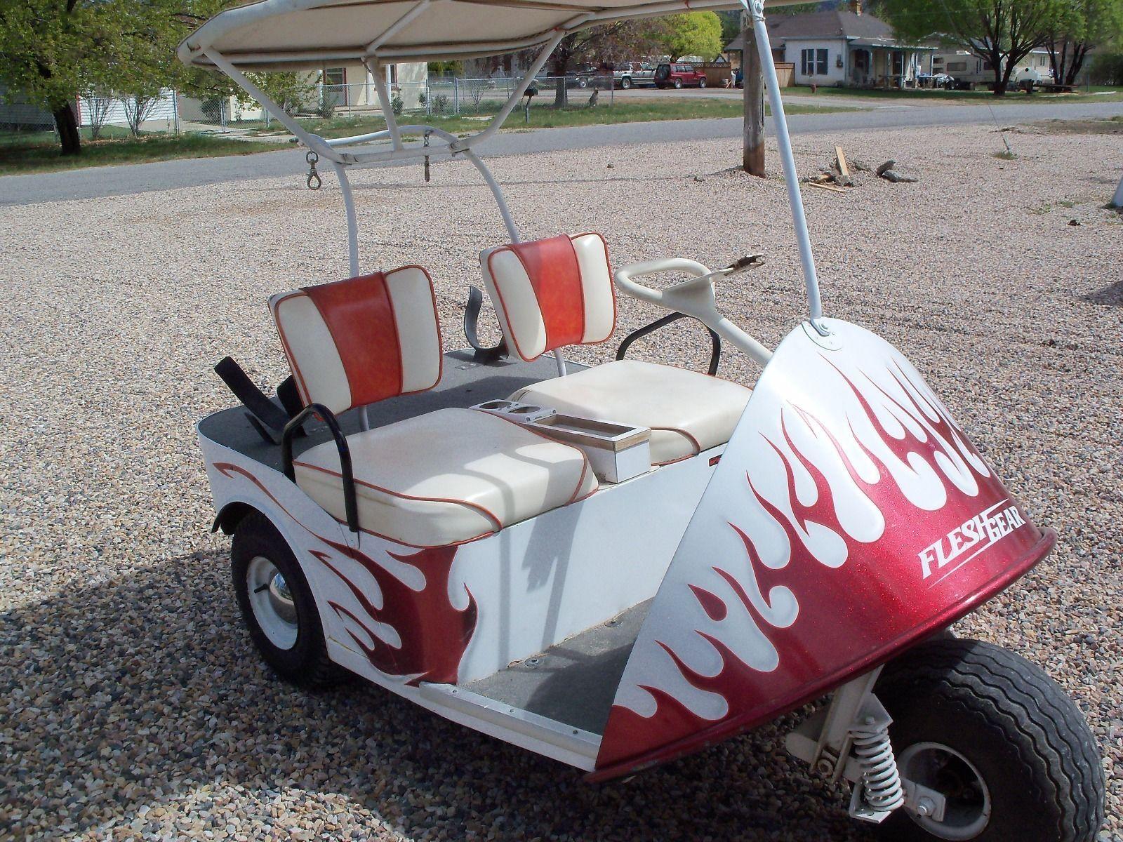 vintage 1967 thunder bird golf cart for sale. Black Bedroom Furniture Sets. Home Design Ideas