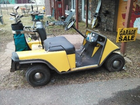 1984 EZ GO Electric Golf Cart Project for sale