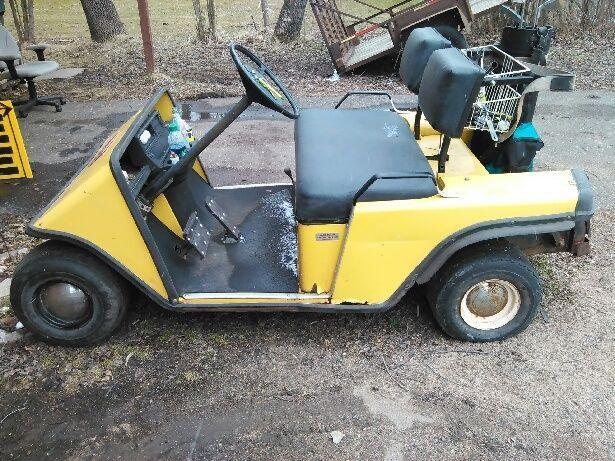1984 EZ GO Electric Golf Cart Project