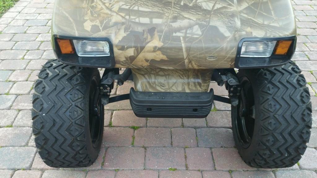 1996 Club Car 48 Volt Electric Golf Cart Camo