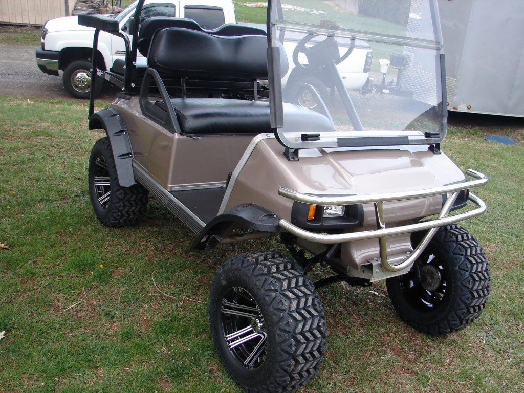 2002 Club Car Ds Gas Golf Cart For Sale