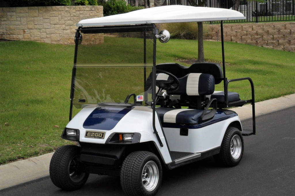 2003 e z go electric golf cart for sale for Motorized carts for sale