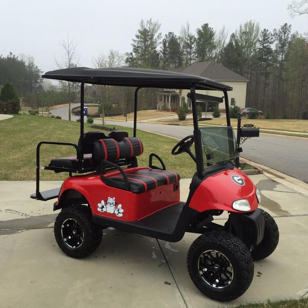 2008 EZGO Custom UGA 48 Volt Golf Cart