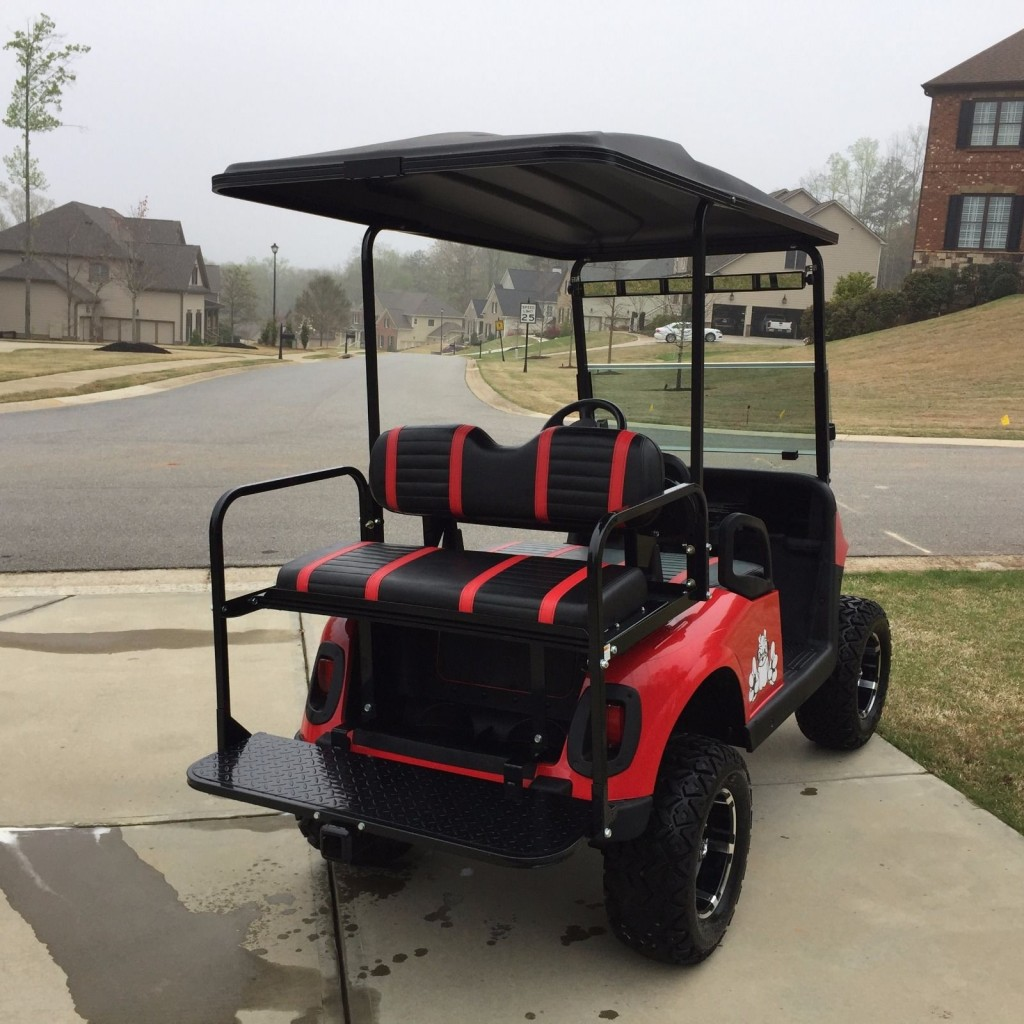 2008 Ezgo Custom Uga 48 Volt Golf Cart For Sale
