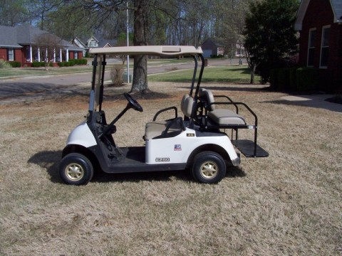 2009 E Z GO RXV Gas Golf Cart for sale