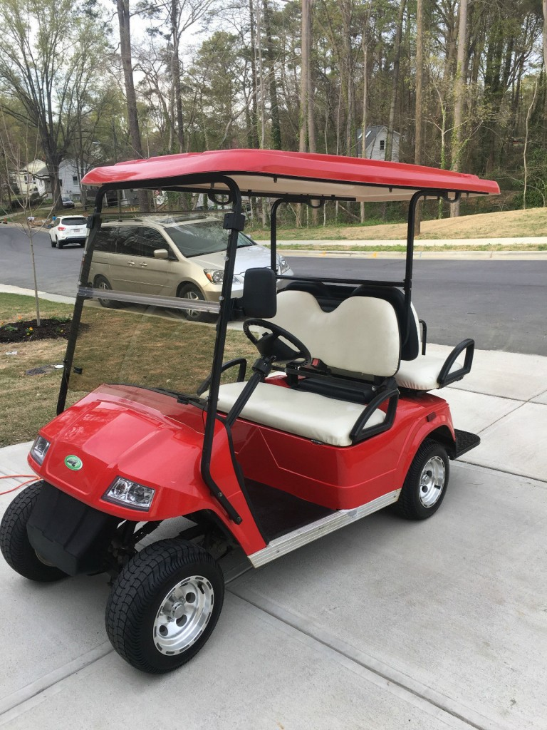 2010 Zone Electric Street Legal Cart for sale