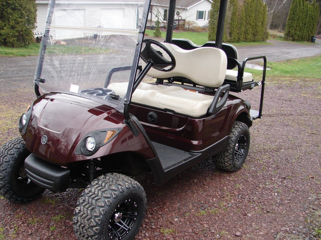 2012 yamaha drive g29 48v electric golf cart for sale for Motorized carts for sale