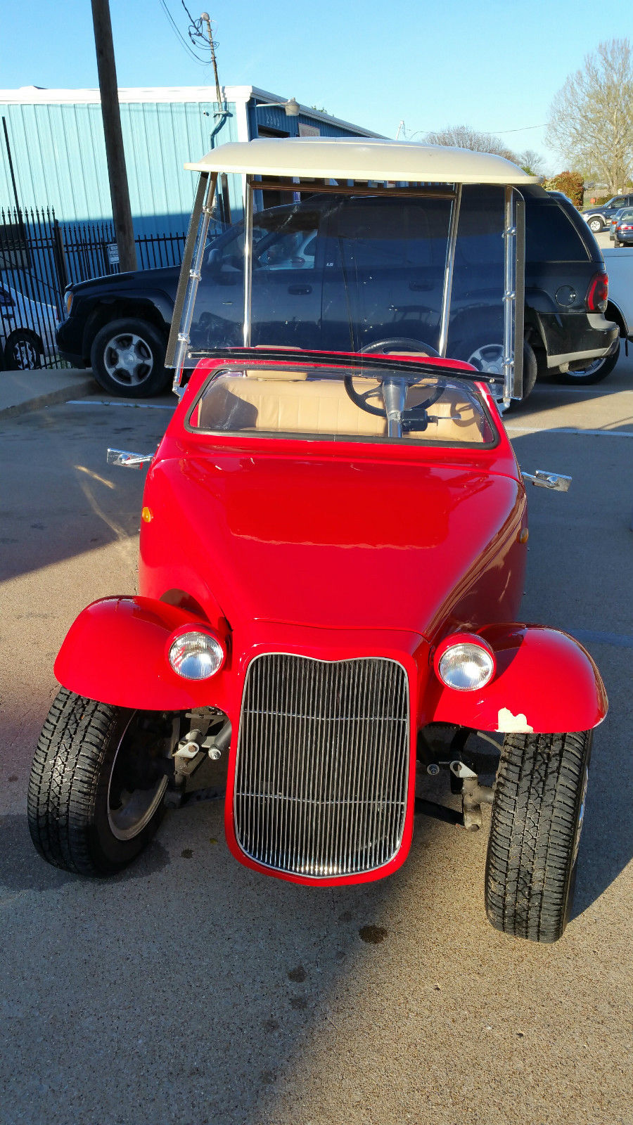 ACP Custom California Roadster Golf Cart Cruiser for sale