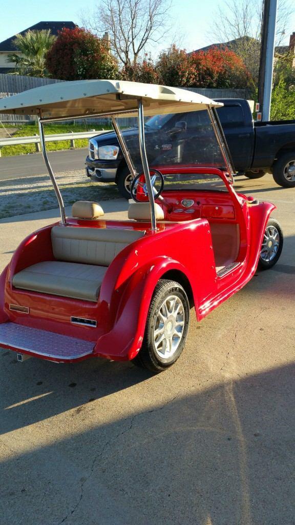 ACP Custom California Roadster Golf Cart Cruiser