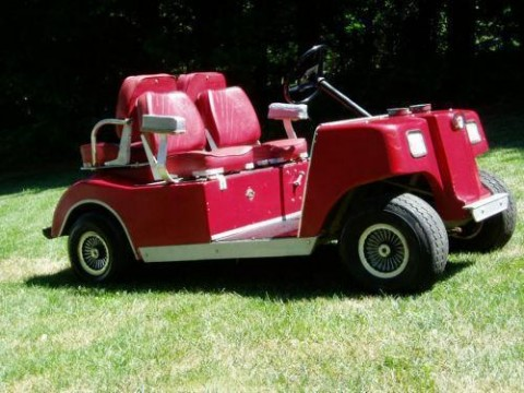 Club Car (Caroche) Electric 4 Seater Golf Car for sale