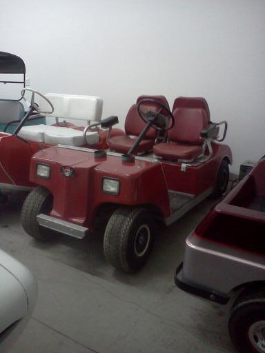 Club Car (Caroche) Electric 4 Seater Golf Car