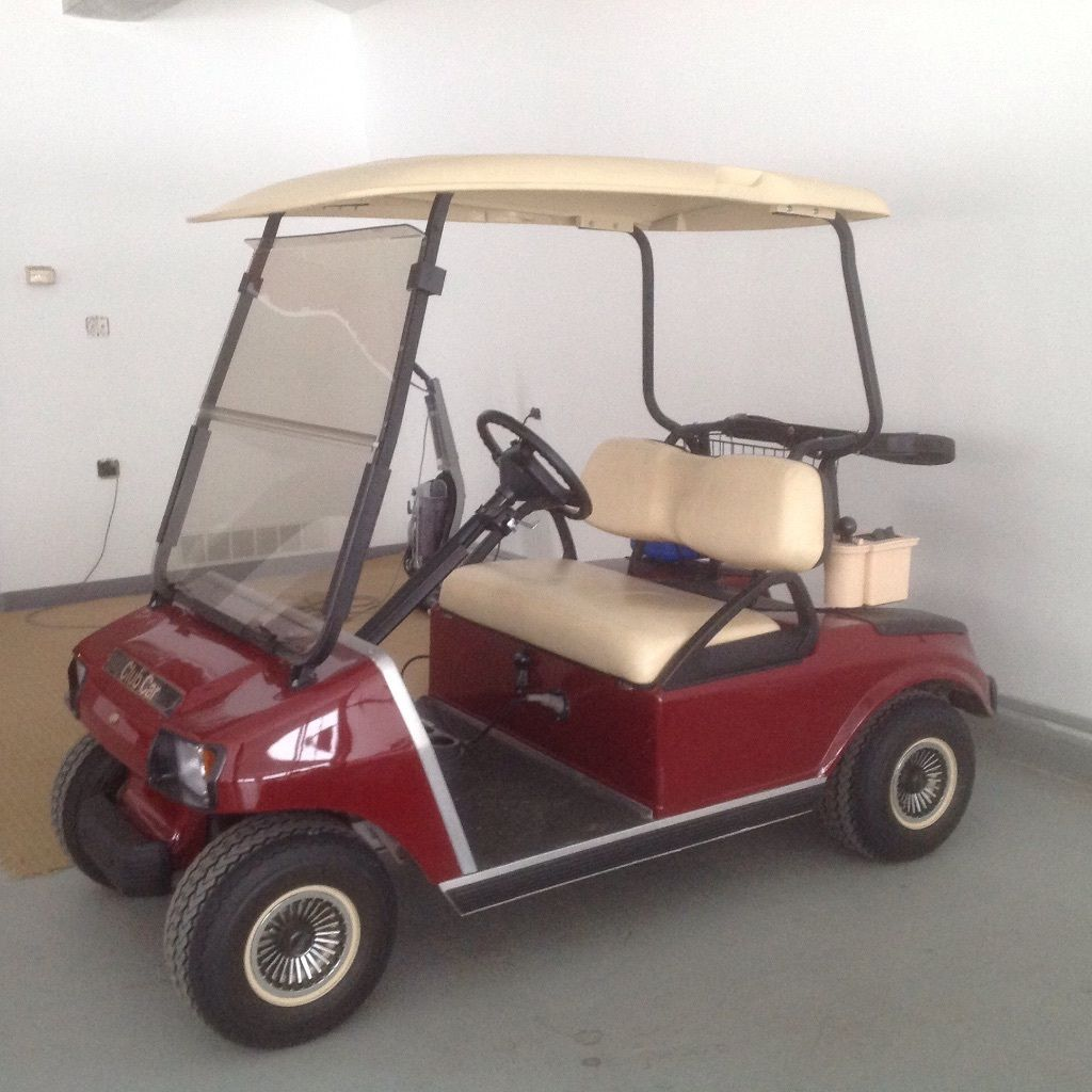 Club Car DS Model Electric Golf Cart With Charger