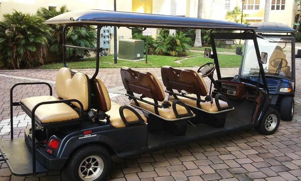 Golf Cart 8 Passenger Vehicle For Sale