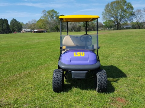 LSU Club Car Precedent Golf Cart for sale
