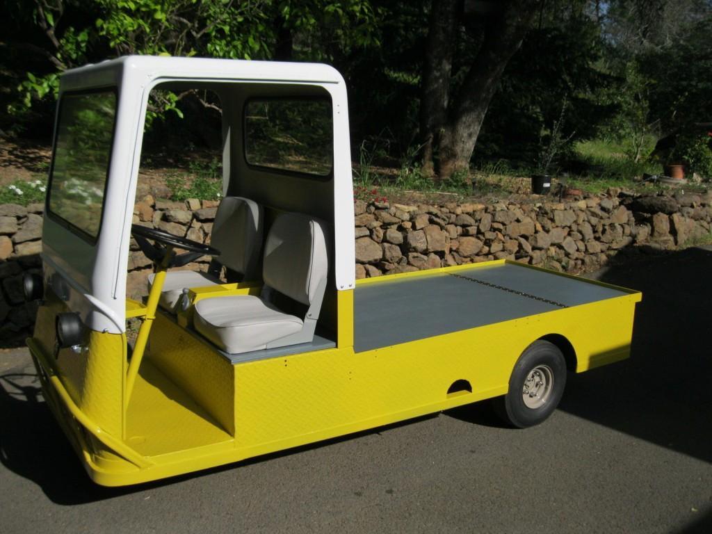 Taylor Dunn Electric Powered Cart / 3 Wheel Burden Carrier