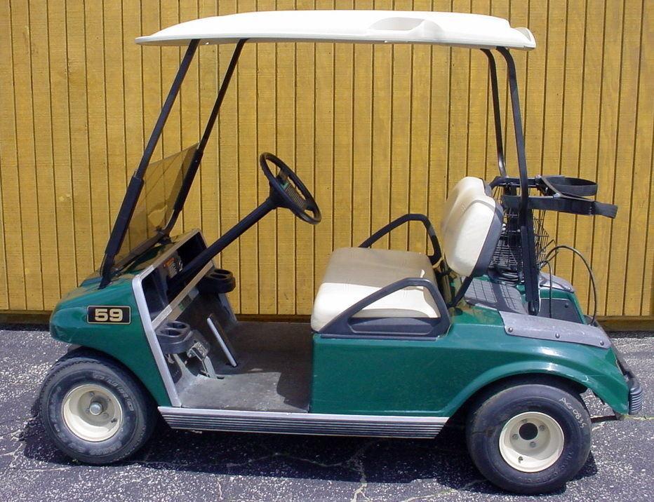 Club Car Golf Carts: 2002 Club Car Golf Cart For Sale