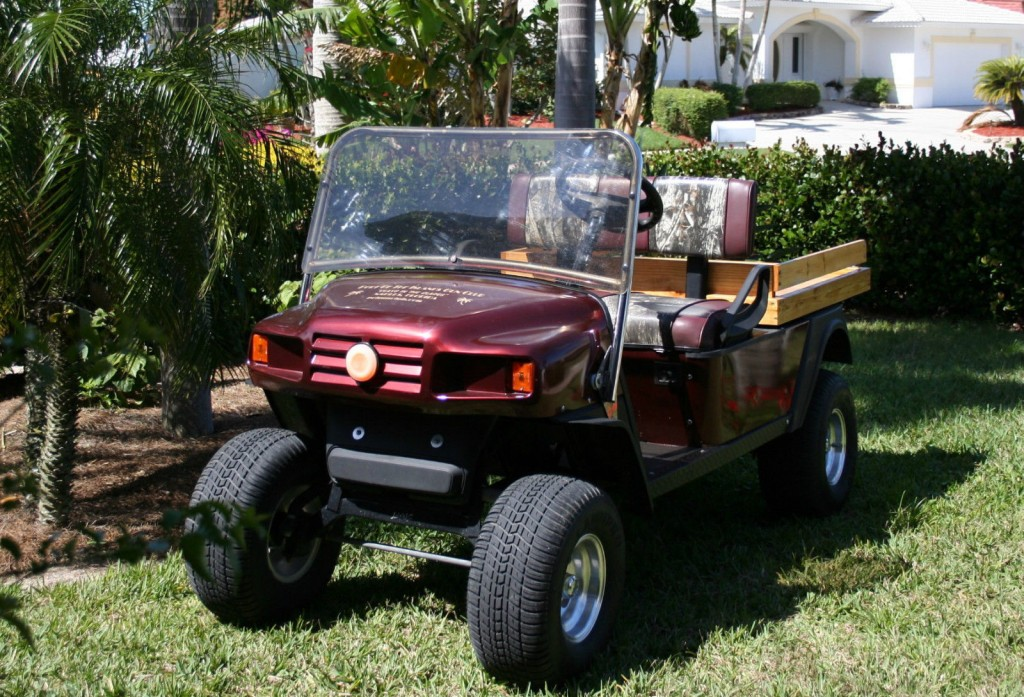 2006 EZGO Custom Mpt1200 Gas Cart