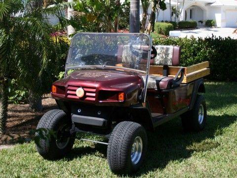 2006 EZGO Custom Mpt1200 Gas Cart for sale