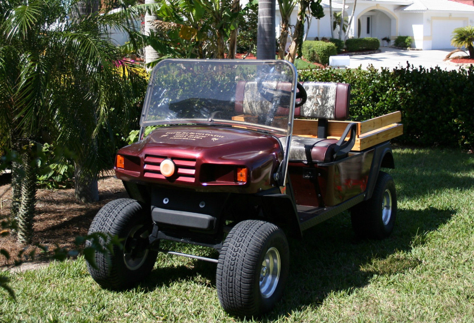 Ezgo Custom Mpt Gas Cart For Sale