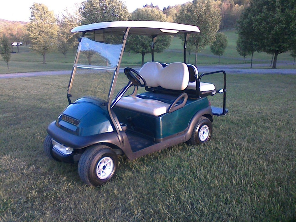 2011 Club Car Precedent Electric Golf Cart 4 passenger