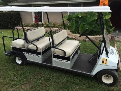 Club Car DS 48 volt, 6 seater transporter cart for sale
