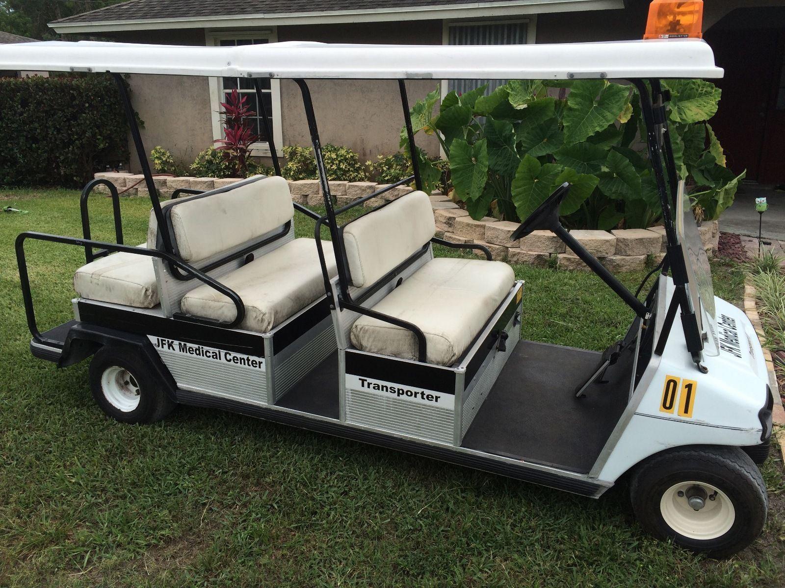 Polaris Gem For Sale >> Club Car DS 48 volt, 6 seater transporter cart for sale