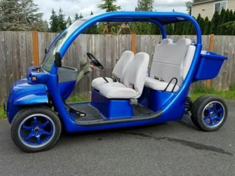 2007 Gem E6 Six Passenger Electric Golf Cart Great